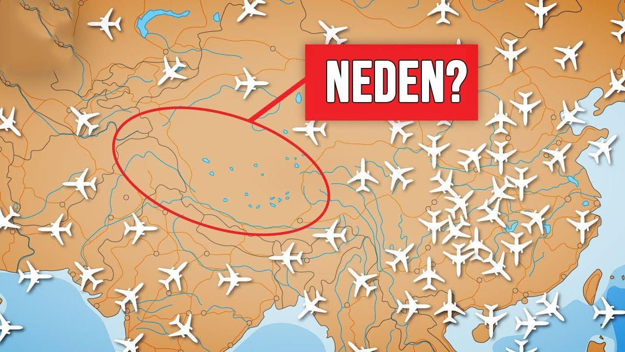 Uçaklar Neden Tibet'in Üzerinden Uçmaz?
